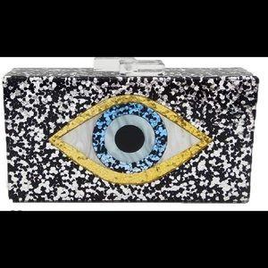 Boutique-Vintage Devil Eyes Women Acrylic Evening
